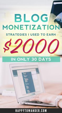 $2000 of blog income in 30 days! This post breaks down exactly how one travel blogger went from making just a few bucks a month to over 2000 within 30 days. Tons of valuable info and advice for those interested in monetizing their travel blog!