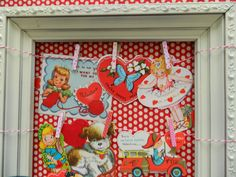 display vintage valentine's   the vintage umbrella: vintage valentine display