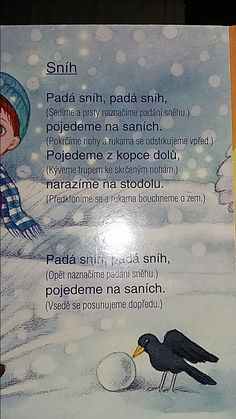 Sníh School Projects, Projects For Kids, Crafts For Kids, Winter Activities For Kids, Christmas Activities, Winter Fairy, Nursery School, Kids Songs, Kids And Parenting