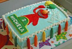 elmo sheet cakes - Google Search