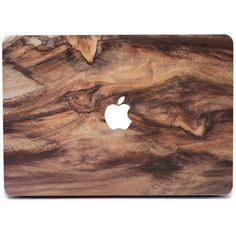 Wood MacBook Skin (91 PLN) ❤ liked on Polyvore featuring fillers, electronics, accessories, tech and computers