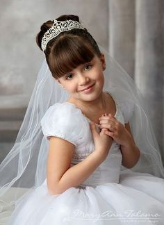 girl first communion photography - Google Search