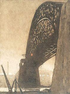 The Red Light, Harbor Bridge, June 1931: Jessie Traill, 1932.