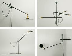Worksted, Industrial Chandelier and Lamps | Est Magazine