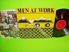 Men At Work – Business As Usual 1982 Vinyl LP Record Who Can It Be Now Pop Rock #1980sNewWavePopRock
