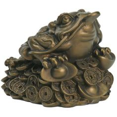 Attract Prosperity and Wealth with a Money Frog -  Where Do I Put My Feng Shui Money Frog? Will It Bring Me Money? - By Rodika Tchi