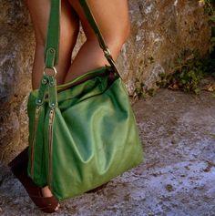 love this green bag!