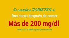 ¿Cuándo se considera que una persona tiene Diabetes? #Diabetes