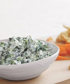 Spinach and Parmesan Dip | RealSimple.com