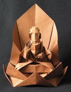 Buda #origami #buddhism