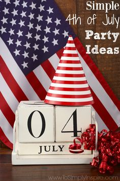 Simple 4th of July Party Ideas - Celebrate and have fun with these easy tips. #4thofjuly #ad #chinet