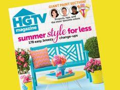 Inside the #June issue of #hgtvmagazine http://blog.hgtv.com/design/2014/05/06/jump-into-the-june-issue-of-hgtv-magazine/?soc=pinterest