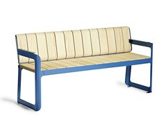 Accoya® wood Bench with back Air Collection by VESTRE | design Atle Tveit