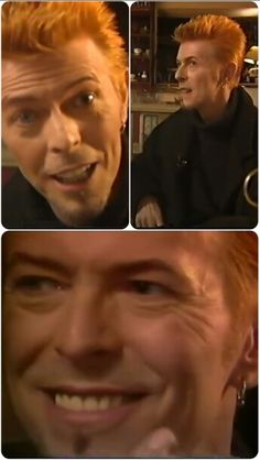 So lovely David Bowie Jan 1997 on BBC Channel