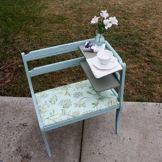 Vintage Telephone Table / Gossip Bench by DefinitelyBetterAftr,