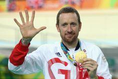 That's five - count 'em, five - gold medals for Bradley Wiggins