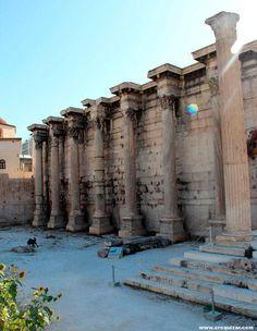 Biblioteca de Adriano, Atenas Greece