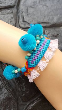 Check out this item in my Etsy shop https://www.etsy.com/listing/478280380/friendship-bracelets-handmade-red-blue