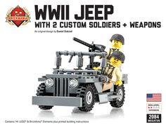 Brickmania - WWII Jeep Megaton Bundle, $110.00 (http://www.brickmania.com/wwii-jeep-megaton-bundle/)