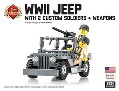 Brickmania - WWII Jeep Megaton Bundle, $110.00 (http://www.brickmania.com/wwii-jeep-megaton-bundle/)