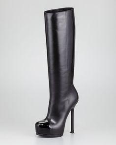 yves saint laurent boots -