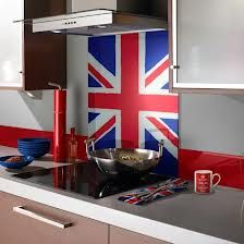 blue and red kitchen ideas - Google Search