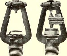 1905 Manufacturers Fused/Unfused fire sprinkler