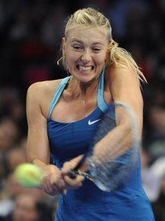 My favourite screamer - Sharapova