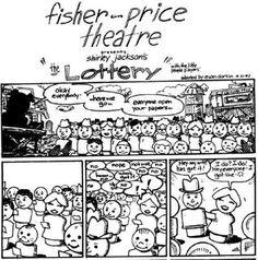 Fisher-Price Theatre: Of Mice & Men by Evan Dorkin (1994