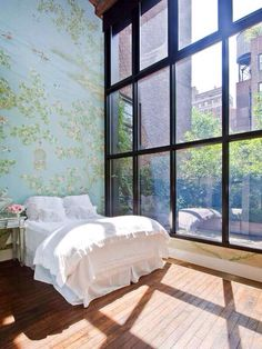 7 Competent Clever Ideas: Shabby Chic Living Room On A Budget shabby chic wallpaper old windows.Shabby Chic House To Get shabby chic bedroom lamps. Dream Bedroom, Home Bedroom, Bedroom Decor, Design Bedroom, Pretty Bedroom, City Bedroom, Master Bedroom, Shabby Bedroom, Wall Decor