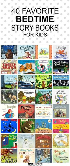 Our Collection Of 40 Classic Bedtime Stories For Kids: Grab any one of these rhyming stories and see the lovely miracle! We are sure these kids bedtime stories will guarantee sleep and kisses from your kids.