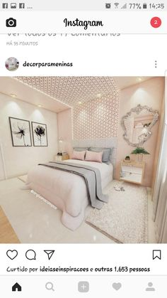 45 Relaxed Bedroom Design Ideas to Inspire You Bedroom Bed Design, Room Decor Bedroom, Dream Rooms, Dream Bedroom, Small Space Interior Design, Cute Room Decor, Room Colors, House Rooms, Home Decor Inspiration