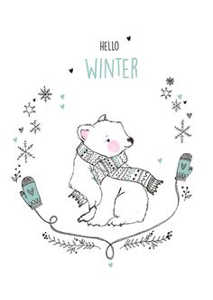 marieke ten berge: hello winter icebear