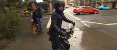 Elektrische motor op één wiel