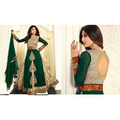 On Discount - Shilpa Green Designer Suit
