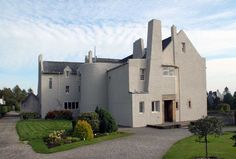 Images of HIll House by Charles Rennie Mackintosh.