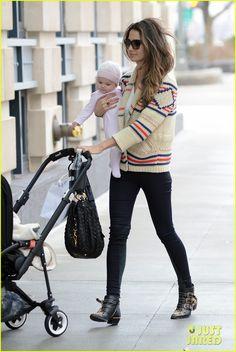 Lily Aldridge & baby