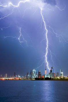 This is the greatest lightning photo I have ever seen!!! -- THUNDER by Mohammed ALSULTAN, via 500px