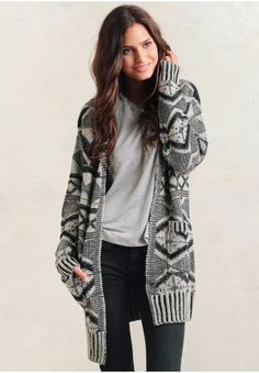 Perfect sweater for creating a comfortable and casual ensemble.