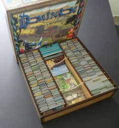 Dominion box with expansions packed Hmm consolidation is a very good idea - so much easier to transport