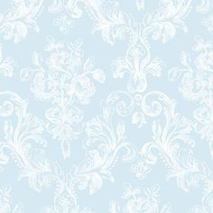 """Grand Chateau 32.7' x 20.5"""" Vintage Floral Wallpaper Roll"""