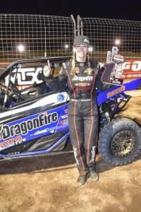 Leading the LORORS Arizona circuit for the 2017 season is 2016 LORORS AZ runner-up, Pro Stock UTV TORC champion and bLU cRU racer Corry Weller in her #948 Dragonfire Racing / Lucas Oil Racing TV / Yamaha YXZ1000R. So far, Weller landed on the podium in five of six Production 1000 UTV class races in Arizona – three of which were first place finishes.