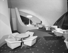 Diseño futurista. TWA Terminal de Lisboa diseñada por Raymond Loewy 1962