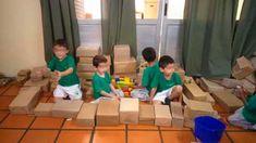 Mi Sala Amarilla: Escenarios lúdicos en el Nivel Inicial. Reggio Emilia, Ideas Para, Education, Crafts, Collage, Blog, Montessori Math, Sensory Activities, Kid Art