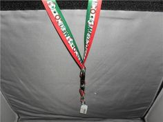 ID BADGE LANYARD MEXICO GREEN RED WHITE NEW #Unbranded #MEXICO