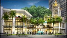 Rendering of the New International Marketplace. It will consist of 75 retail stores, 7 restaurants and a parking garage with approximately 700 spaces. Saks Fifth Avenue will be the anchor store.- photo from Hawaii News Now