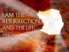"""John 11:25 KJV & Happy Easter!! ( http://kristiann1.com/2015/03/31/j1125he/ ) """"Jesus said unto her, I am the Resurrection, and the Life: he that believeth in Me, though he were dead, yet shall he live:"""" ✝✡Yeshua-Jesus Christ is RISEN✡✝ ✝✡Hallelujah & Shalom!! Kristi Anne✡✝"""