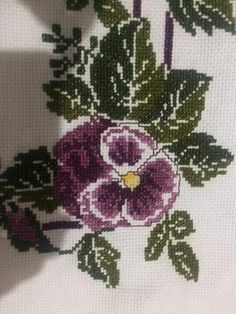 Cross Stitch Flowers, Diy And Crafts, Embroidery, Canvas, Design, Cross Stitch Kits, Cross Stitch Borders, Perfect Love, Towels