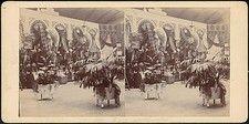 The Metropolitan Museum of Art - [Group of 13 Stereograph Views of The Great Sanitary Fair, Philadelphia, and the Royal Alexandra Infirmary Bazaar, Scotland, Metropolitan Museum, Philadelphia, The Dreamers, Scotland, Group, Artwork, Work Of Art, Auguste Rodin Artwork, Artworks