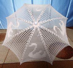 najnowsza parasolka z łabędziem